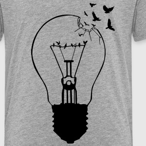 Outlaw, breaking out of the old light bulb Kids' Shirts - Kids' Premium T-Shirt