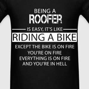 Roofer T-Shirts - Men's T-Shirt