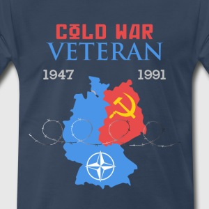 Cold War Veteran - Men's Premium T-Shirt