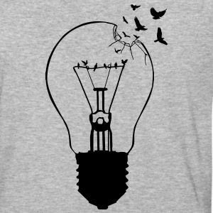 Outlaw, breaking out of the old light bulb T-Shirts - Baseball T-Shirt