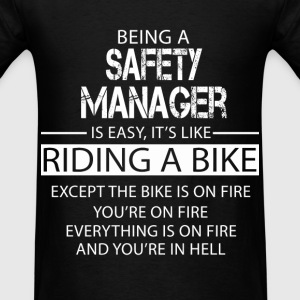 Safety Manager T-Shirts - Men's T-Shirt