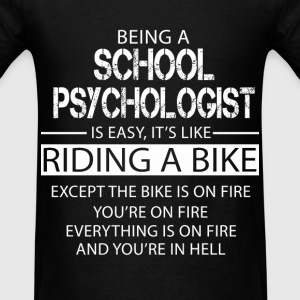 School Psychologist T-Shirts - Men's T-Shirt