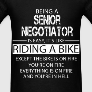 Senior Negotiator T-Shirts - Men's T-Shirt