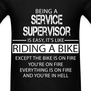 Service Supervisor T-Shirts - Men's T-Shirt