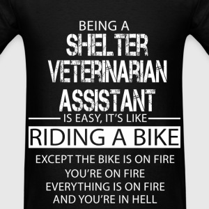 Shelter Veterinarian Assistant T-Shirts - Men's T-Shirt