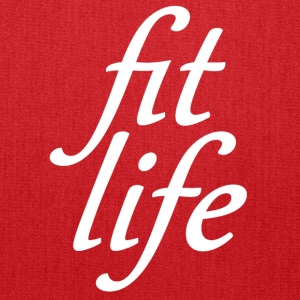 fit life white Bags & backpacks - Tote Bag