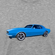 Design ~ Blue Camaro SS Mens Reg & Big