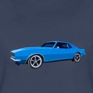 Design ~ Blue Camaro SS Lady Tee