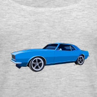 Design ~ Blue Camaro SS Women Tank