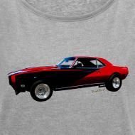 Design ~ Camaro SS Lady Roll Sleeve Boxy T