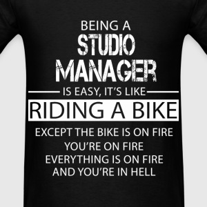 Studio Manager T-Shirts - Men's T-Shirt