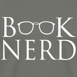 Book Nerd T-Shirts - Men's Premium T-Shirt