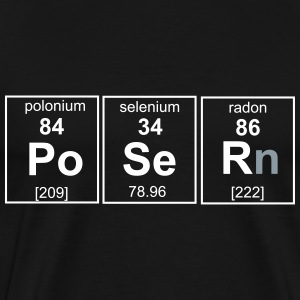 Chemistry, Poser Element T-Shirts - Men's Premium T-Shirt