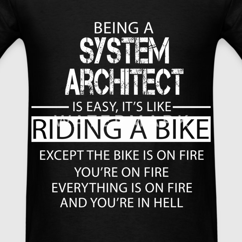 System Architect T-Shirts - Men's T-Shirt