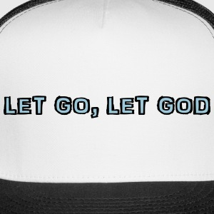 Let Go Black cap - Trucker Cap