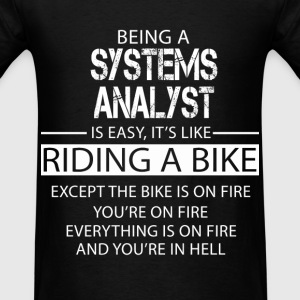 Systems Analyst T-Shirts - Men's T-Shirt