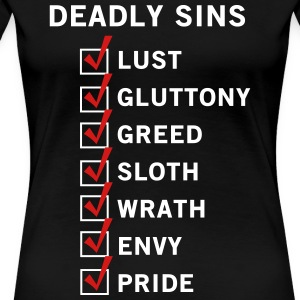 7 Deadly Sins T-Shirts - Women's Premium T-Shirt