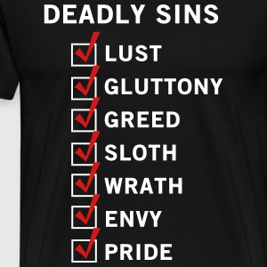 7 Deadly Sins T-Shirts - Men's Premium T-Shirt