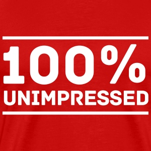100% Unimpressed T-Shirts - Men's Premium T-Shirt