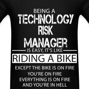 Technology Risk Manager T-Shirts - Men's T-Shirt
