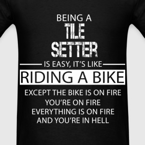 Tile Setter T-Shirts - Men's T-Shirt