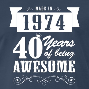 Made in 1974 T-Shirts - Men's Premium T-Shirt
