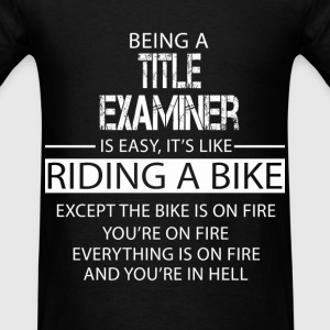 Title Examiner T-Shirts - Men's T-Shirt