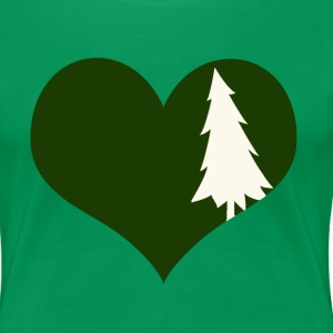 Love for the Outdoors! - Women's Premium T-Shirt