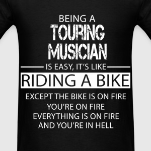 Touring Musician T-Shirts - Men's T-Shirt