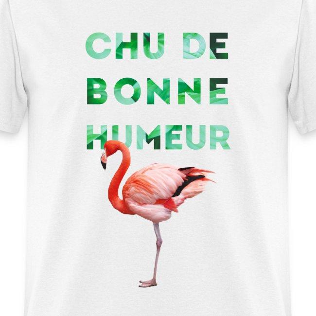 """T-shirt  pour homme """"CHU DE BONNE HUMEUR"""""""
