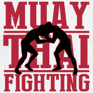 martial arts: muay thai fighting T-Shirts - Men's Premium T-Shirt