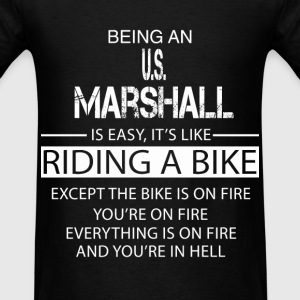 U.S. Marshall T-Shirts - Men's T-Shirt