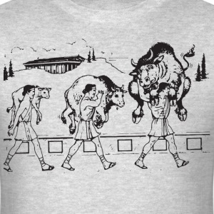 Milo of Croton And The Bull T-Shirts - Men's T-Shirt
