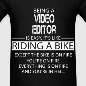 Video Editor T-Shirts - Men's T-Shirt