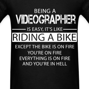 Videographer T-Shirts - Men's T-Shirt