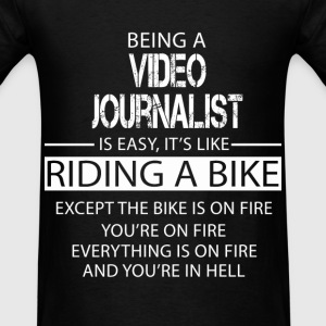 Video Journalist T-Shirts - Men's T-Shirt