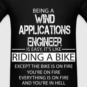 Wind Applications Engineer T-Shirts - Men's T-Shirt