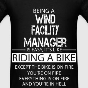 Wind Facility Manager T-Shirts - Men's T-Shirt