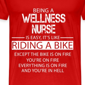 Wellness Nurse T-Shirts - Men's Premium T-Shirt