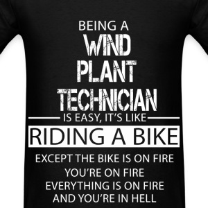 Wind Plant Technician T-Shirts - Men's T-Shirt