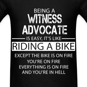 Witness Advocate T-Shirts - Men's T-Shirt
