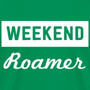 Weekend Roamer T-Shirts - Men's Premium T-Shirt