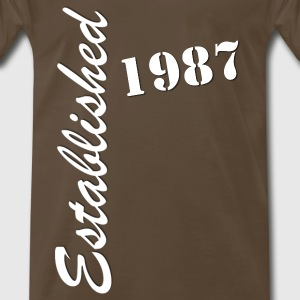 Established 1987 - Men's Premium T-Shirt