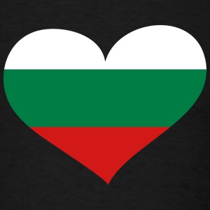 Bulgaria Heart; Love Bulgaria T-Shirts - Men's T-Shirt