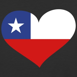 Chile Heart; Love Chile T-Shirts - Baseball T-Shirt