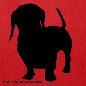 Kai the Dachshund Tote - Tote Bag