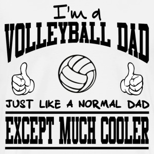 VOLLEYBALL DAD1.png T-Shirts - Men's Premium T-Shirt