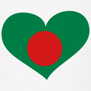 Bangladesh Heart; Love Bangladesh T-Shirts - Men's T-Shirt