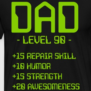 Dad Level 90 T-Shirts - Men's Premium T-Shirt