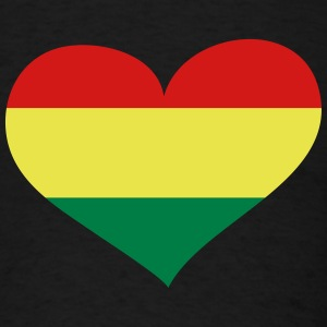 Bolivia Heart; Love Bolivia T-Shirts - Men's T-Shirt